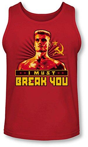 Rocky - - Herren I Must You Break Tank-Top Red