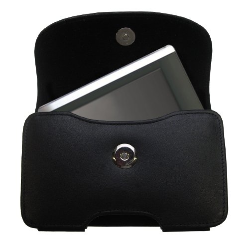 pelle-nera-custodia-con-passante-per-cintura-e-una-clip-rimovibile-per-amcor-modello