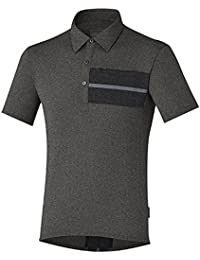 Shimano Transit - Maillot manches courtes - gris 2017 maillot cyclisme homme