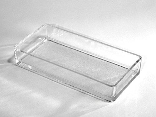 meindekoartikel Glasschale Dekoschale STEEN in verschiedene Varianten (Breite 21 cm - Tiefe 11 cm - Höhe 4 cm)