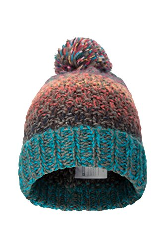 Mountain Warehouse Multi-Colour Women's Beanie - Soft, Warm Knit Fabric & Fleece Lining with Stylish Pattern & Colourful Design - Ideal as Everyday Wear