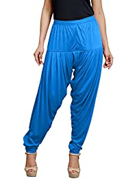 Goodtry Women's patiyala Free Size-Turquise Blue