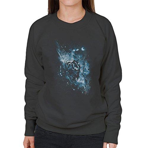 Triforce Awaken Legend Of Zelda Women's Sweatshirt Anthracite