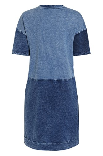 next Robe en denim à empiècements Tall Femme Bleu