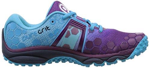 Brooks Puregrit 4-120196 1b 517, Chaussures de Trail Femme Violet (Phlox/Aquarius/Peacoat 517)