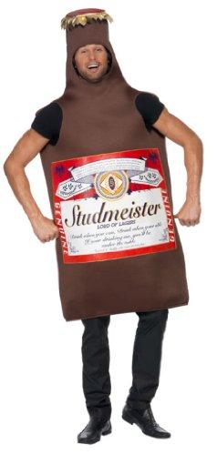 Imagen de smiffy's  disfraz de botella de cerveza studmeister para hombre, talla única 20391  alternativa