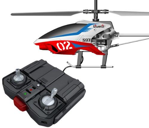 Air Raiders Silverlit 84597 - Nanocoptero Orion, helicóptero radiocontrol, 3 canales, giróscopo, vuelo interior - Surtido personajes