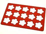 Pati-Versand Silikonrahmen für Aufleger Blume