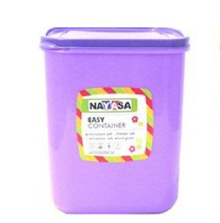 Nayasa Easy Funk 25 Plastic Container Set, 6000 ML, (Set of 1)  available at amazon for Rs.208