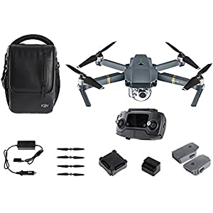 DJI - Mavic Pro Fly More Combo - Drone Quadricoptère avec Caméra