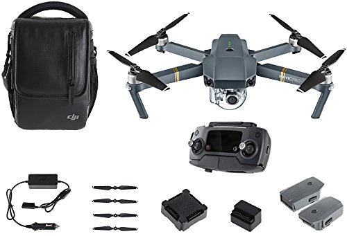 DJI - Mavic Pro Combo - Quadcopter Drone with Camera,Grey