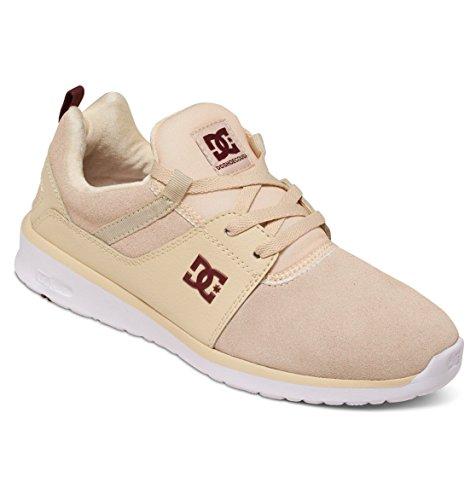 DC Shoes Heathrow Se J, Baskets Basses femme Blanc - Cream