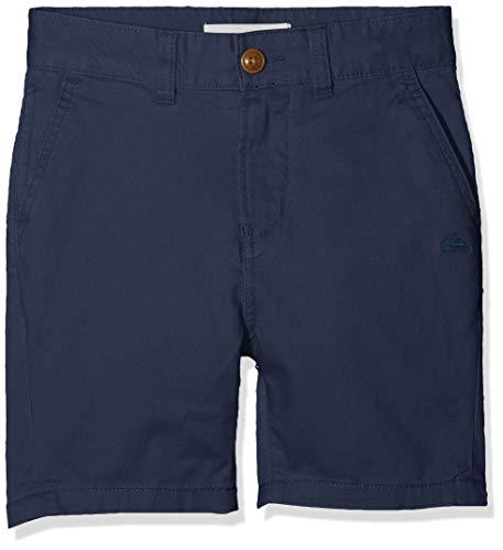 Quiksilver Jungen Krandy Walk Shorts, Blue Nights, 30/16 - Easy Fit Chino Shorts