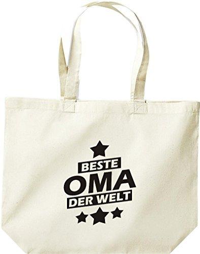 shirtstown grande borsa della spesa, Beste OMA MONDO Naturale