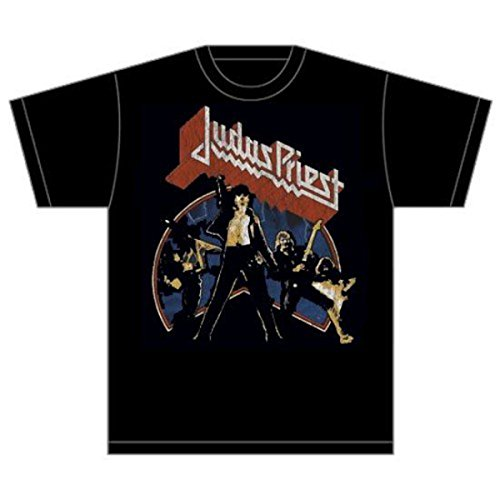 Rockoff Trade Herren Unleashed v2 T-Shirt, Schwarz (Black), Large -