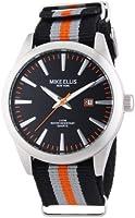 Mike Ellis New York 17993/2 XL Men's Analogue Quartz Watch with Textile Strap