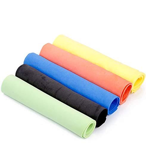 Chrislz pva imitazione camoscio asciugamano asciugabile asciugamano asciugamano pulizia asciugamano asciugatura asciugamano cloth pack di 5