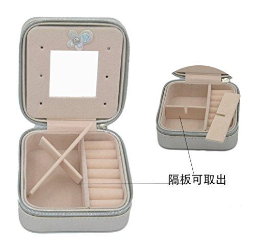 iSuperb-Joyero-organizador-de-piel-sinttica-pantalla-funda-de-almacenamiento-viaje-Estuche-para-anillos-pendientes-collar-pulsera