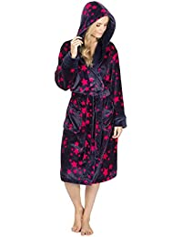 Metzuyan - Ladies Star Print Dressing Gown  a90c64554