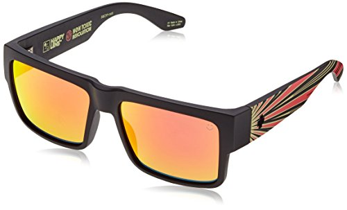 Surf-ken (Spy Sonnenbrille CYRUS plus apex ntr 2015, happy gray green/red spectra, 183180866365)