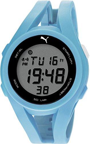Puma PU911131004 - Reloj de cuarzo para hombres, color azul