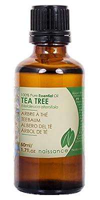 Teebaumoel - 100% naturreines aetherisches Oel ohne Farbstoffe Duftstoffe ohne Konservierungsstoffe. Es ist fuer die Duftlampe pur geeignet, mischt sich aber auch sehr gut mit anderen aetherischen Oelen. 50ml.