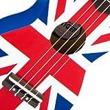 Tiger UKE10-UK Ukulélé avec Housse - Union Jack