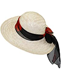 EveryHead Fiebig Onorevoli Cappello Di Paglia Paglietta Coneflower Estate  Spiaggia Da Vacanza Dimensione Tondo Forma Con c1d669aa47c7