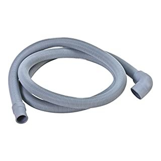 DREHFLEX® - SCHLA228 - Schlauch/Ablaufschlauch/Schmutzwasserschlauch passt für diverse Spülmaschinen von AEG/Electrolux/Privileg/Zanussi/Zanker – für Teile-Nr. 117368030-5/1173680305