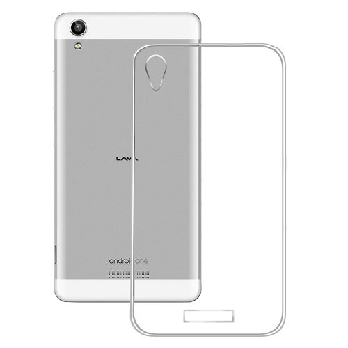 Casotec Soft TPU Back Case Cover for Lava Pixel V1 - Clear  available at amazon for Rs.109