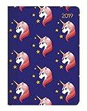 Agenda giornaliera Style 2019 'Unicorn' 10,7x15,2 cm