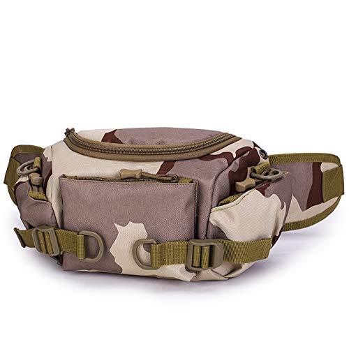 Hanf Messenger Tasche (HFALOutdoor Taktische Taschen Multifunktionstaschen mit doppeltem Verwendungszweck Camouflage Messenger-Bergsporttaschen)