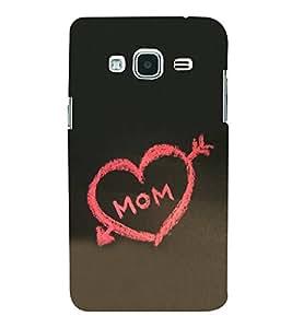 Fiobs Designer Back Case Cover for Samsung Galaxy J2 (6) 2016 J210F :: Samsung Galaxy J2 Pro (2016) (Black Kala Mother Quote)