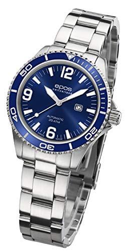 EPOS 411028 - Orologio sportivo da donna, analogico, automatico, cinturino...