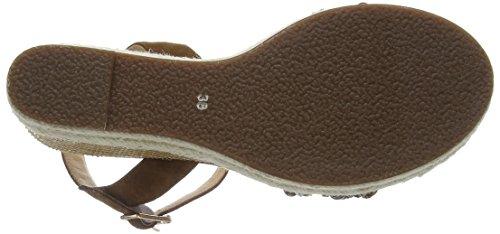 Giudecca - Jycx15pr012-1, sandali aperti a cuneo Donna Marrone (AE1-2 Brown)