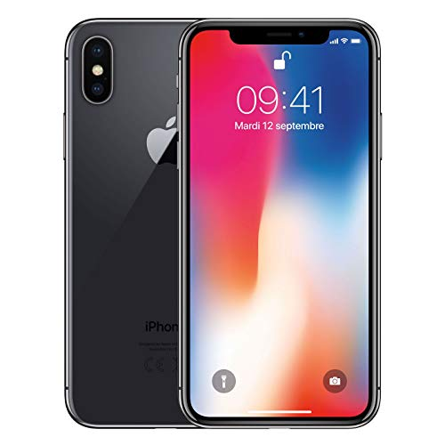 "Apple iPhone X, 5,8"" Display, 64 GB, 2017, Space Grau"
