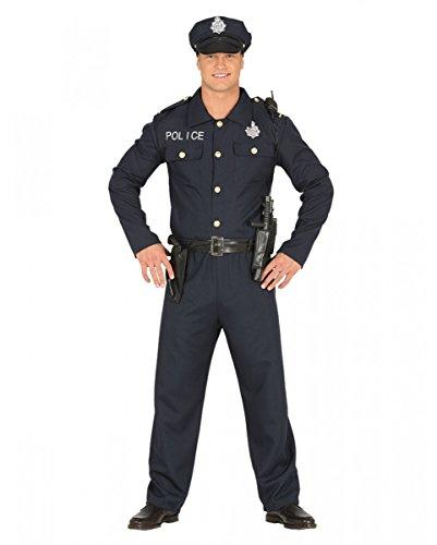 �m für Fasching, Motto Party und Halloween L (Halloween-kostüme Cop)