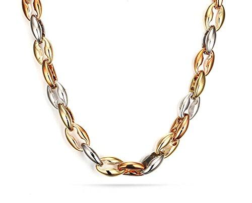 vnox-en-acier-inoxydable-tri-tone-frein-lien-chaine-de-collier-pour-hommes-100mmoror-roseargent22-po