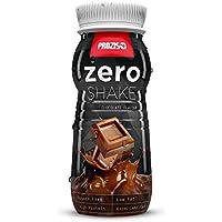Prozis Zero Shake 250ml: El Mejor Sabor a Chocolate - RTD Protein Shake - Bajo Contenido de Carbohidratos y sin.