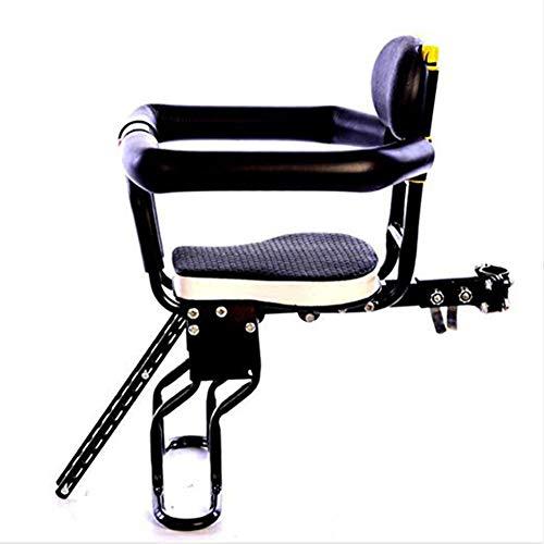 Joyfitness Fahrrad Kindersitz Sicherheit Vordersitz mit abnehmbarem Griff für eine Vielzahl von Modellen,Black