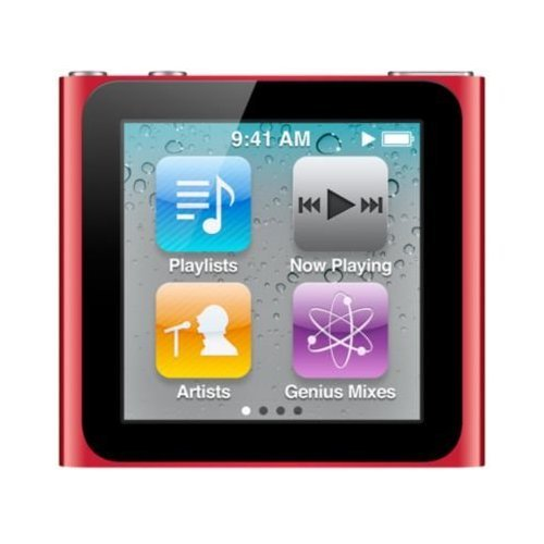 Apple Ipod Nano 6 G Generation RED Rot 8GB Retail ohne OVP