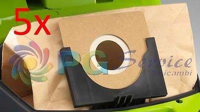 Ariete 5x bolsas bolsas papel aspirador Green Force Compact 2734
