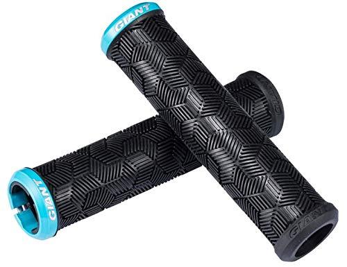 GiANT Lenkergriffe MTB Grip Enduro DH Single Lock-on Schwarz Blau Blau -