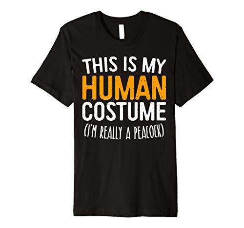This Is My Echthaar Kostüm Ich bin wirklich ein Pfau T-Shirt