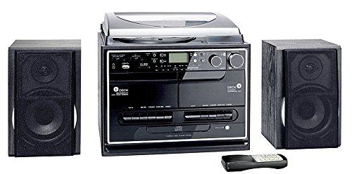 dual stereoanlage mit plattenspieler Kompaktanlage mit Plattenspieler Radio Kassette CD USB SD MMC MP3s - Encodingfunktion