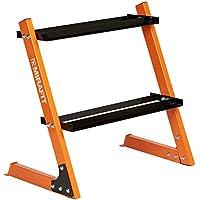 MiraFit Kurzhantel-Regal 150kg mit 2Böden – Orange