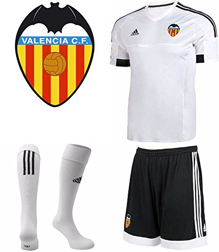 Valencia Fc Home Kit Kinder 2015–2016Shirt Shorts und Socken 9-10 YEARS (140 CM)