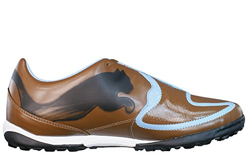Puma V5.10 Big Cat TT Astro Turf Hommes de football Baskets Bottes - brun brown