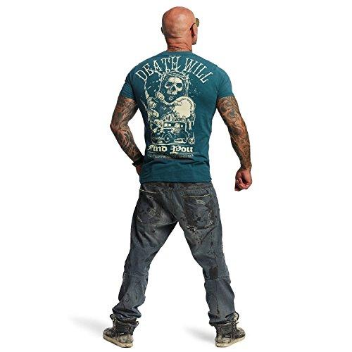 Yakuza Original Herren Death Will Find You T-Shirt Jasper