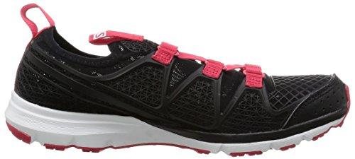 Salomon - Crossamphibian W, Scarpe da trail running Donna Nero/rosa (Black/Black/Lotus Pink)